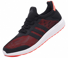 Кроссовки Adidas Climacool Fresh Bounce Black / Solar Red